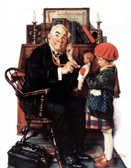 Norman-Rockwell-Art-Paintings-Wallpaper