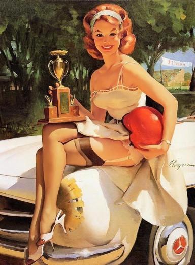 fancy woman winning