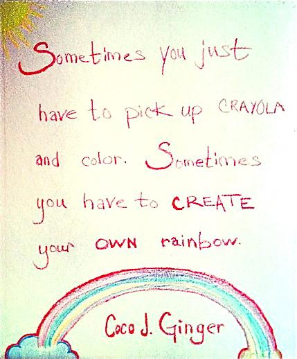 CocoJGinger Crayola
