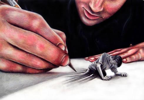 artist-creating-life
