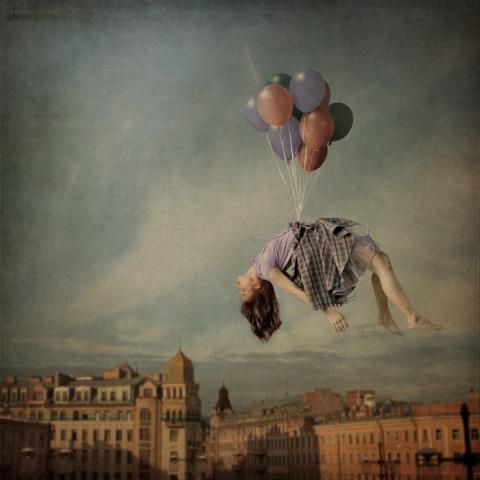 Away to the Sky by Anka Zhuravleva