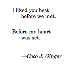 Before Coco J. Ginger