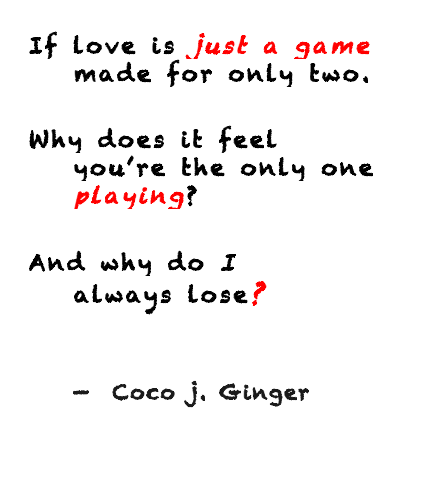 Coco J. Ginger Game 2013-12-25 at 1.35.50 PM