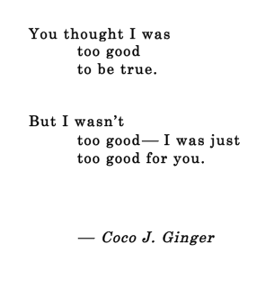 Too Good Coco J Ginger