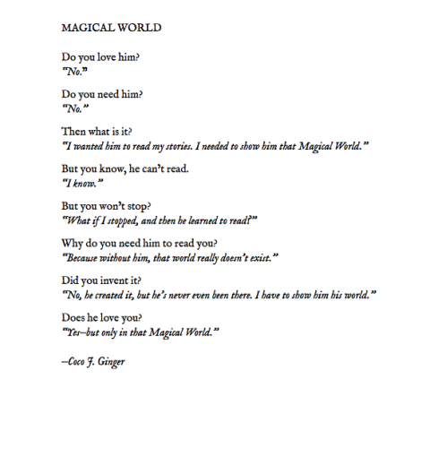 MAGICAL WORLD BY: COCO J. GINGER