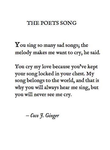 The Poets Song_ Coco J. Ginger