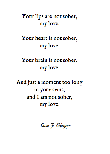 Sober Coco J. Ginger