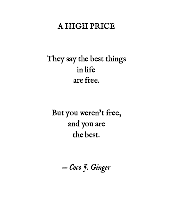 A HIGH PRICE By: Coco J. Ginger