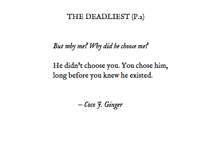 THE DEADLIEST P2 BY COCO J. GINGER