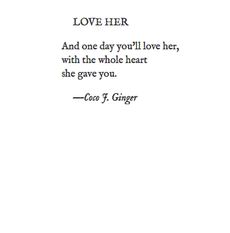 LOVE HER BY COCO J GINGER